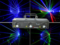 New RGB 730mw laser light dmx 512 control laser stage lighting night club disco home party laser lighting rotating stars effect