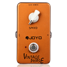 JOYO JF-06 Vintage Phase Phaser Guitar Effect Pedal True Bypass Guitar Parts Accessory Effects недорого