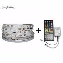 5m 12V 24V RGBW RGBWW smart LED tape lights 60led/m 6 Pin connector 5 in 1 Lamp beads Full spectrum for home TV backing decor