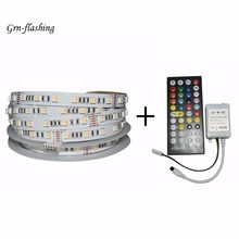 5 m 12 V 24 V RGBW RGBWW smart LED band lichter 60led/m 6 Pin stecker 5 in 1 lampe perlen Volle spektrum für home TV lage decor(China)