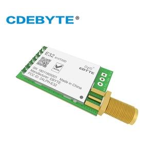 Image 3 - E32 915T20D Lora Lungo Raggio UART SX1276 915mhz 100mW SMA Antenna IoT uhf Ricetrasmettitore Wireless Modulo Ricevitore Trasmettitore