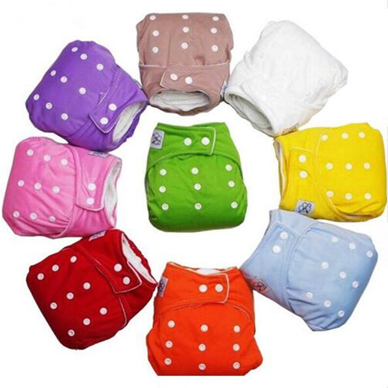 Reusable Baby Infant Nappy Cloth Diapers Soft Covers Baby Nappy Size Adjustable Training Pants Size Adjustable Drop Shipping
