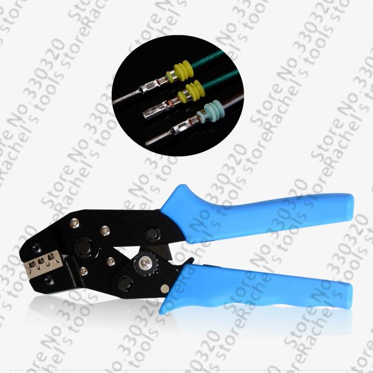 Terminal Ratsche Crimpen Werkzeug/zangen Crimps Mit Draht Dichtung Wasserdichten Stecker 0,5-1.5mm2 Werkzeuge