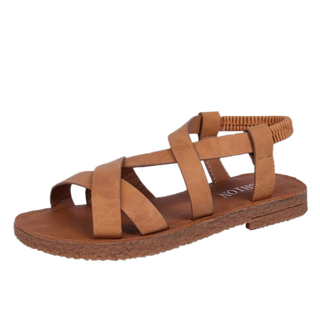 a9533844d1af4c Drop shipping sandals womens sandalia feminina Fashion Summer Women Girl  Sandals Flat Bottom Holiday Beach Sandals A0612 30