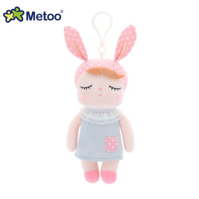 Mini Kawaii Plush Stuffed Animal Cartoon Kids Toys for Girls Children Baby Birthday Christmas Gift Angela Rabbit Metoo Doll