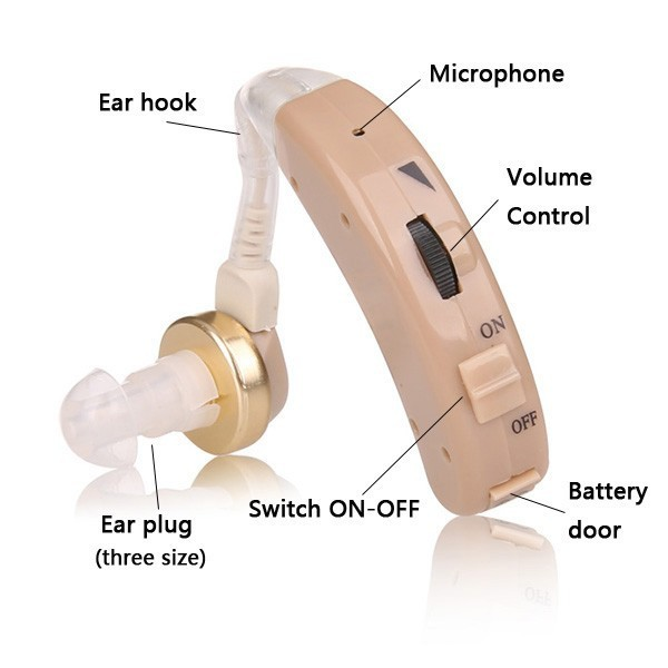 headset ear aid ear hook sound amplifier cheap hearings aid for deafness S-8A