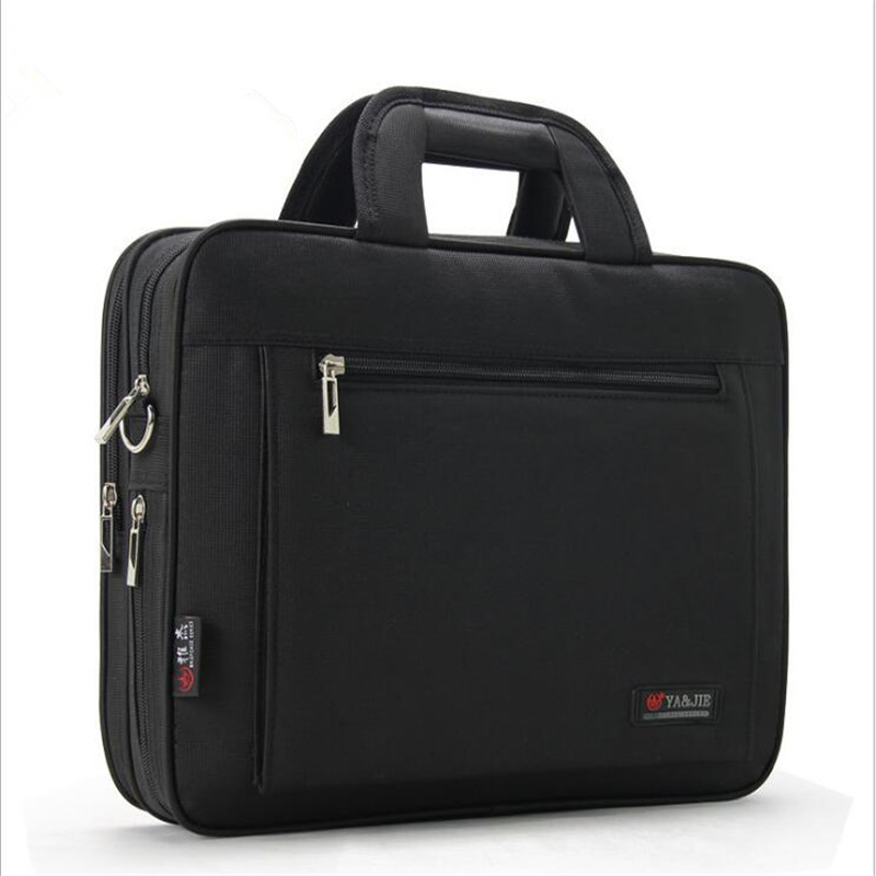 Men's Business Briefcase Large Capacity Computer Bag Portable File Package Male Meeting Business Crossbody Handbag Pouch