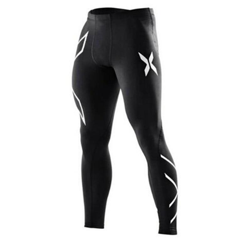 f1cafe525ceba 2018 Hommes compression collants fitness femmes pantalons Joggers ...