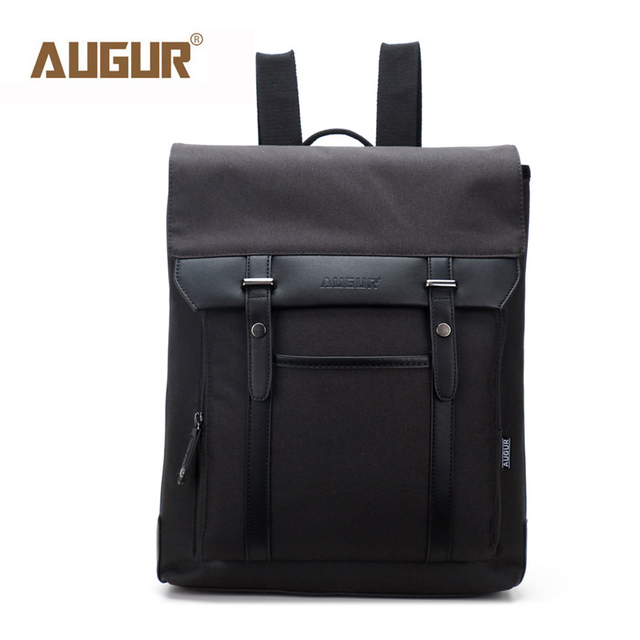 3fe4fb8001e AUGUR New Backpacks Nylon Cover School Bags For Teenagers Vintage Laptop  Backpack Women Men Bag Top Quality