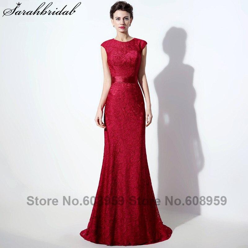 Robe rouge longue 2017