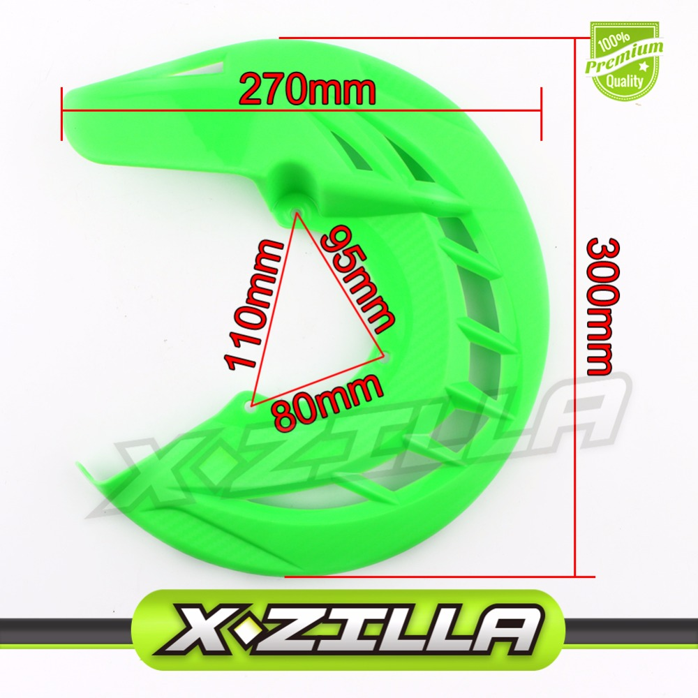 Front Brake Disc Rotor Guard Protector Cover For 125 200 250 300 530 KLX CRF YZF  Dirt Pit Bike Enduro Motorcycle mfs motor motorcycle part front rear brake discs rotor for yamaha yzf r6 2003 2004 2005 yzfr6 03 04 05 gold