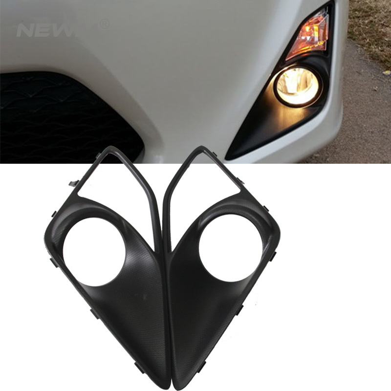 High quality led drl Led Fog Light Bezel for FT86/GT86 (12~) for Subaru BRZ (12~) for Scion FR-S (12~) 52mm racing aluminum radiator for 13 16 subaru brz frs gt86 fr s toyota sl