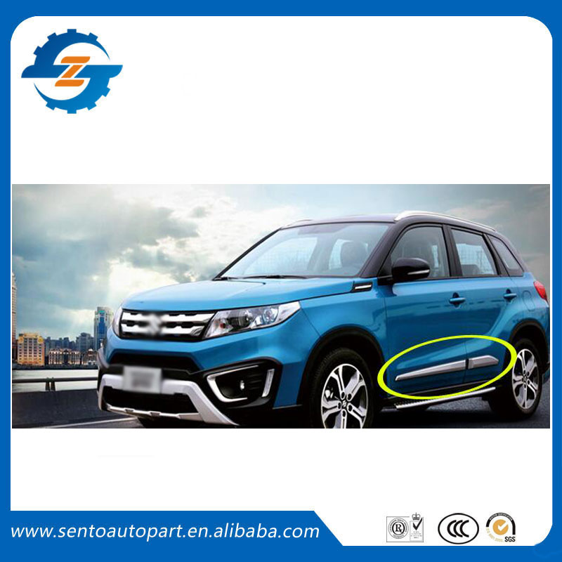 Hot Sale car door anticollision decoration trim Styling Mouldings side moulding for Vitara 2016 16