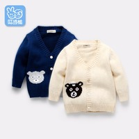Children S Clothing Children S Sweater Boy Baby Girl Baby Autumn Winter Knitted Sweater Clothes Jacket