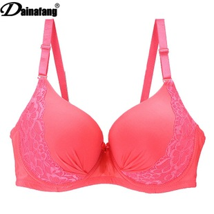 Foreign trade ultra thin sexy underwear set Large size gathered stereo bra set thin section comfortable breathable underwear in Bra Brief Sets from Underwear Sleepwears