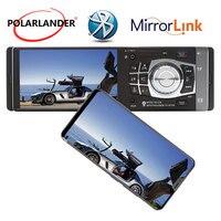 4.1 Inch HD MP5 Player Auto Radio Support TF/Rear View Camera/ Bluetooth Car Radio Mirror Link Autoradio radio cassette player
