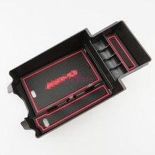 Автомобилей Организатор интерьер подлокотник ящик для хранения Контейнер для Mercedes Benz CLA GLA W176 A B класс A180 W246 аксессуары