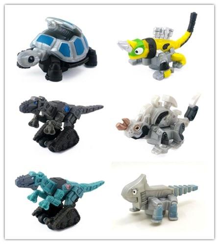 New Dinotrux Dinosaur Truck Removable Dinosaur Toy Car Mini Models New Children's Gifts Toys Models Birthday Child Toys