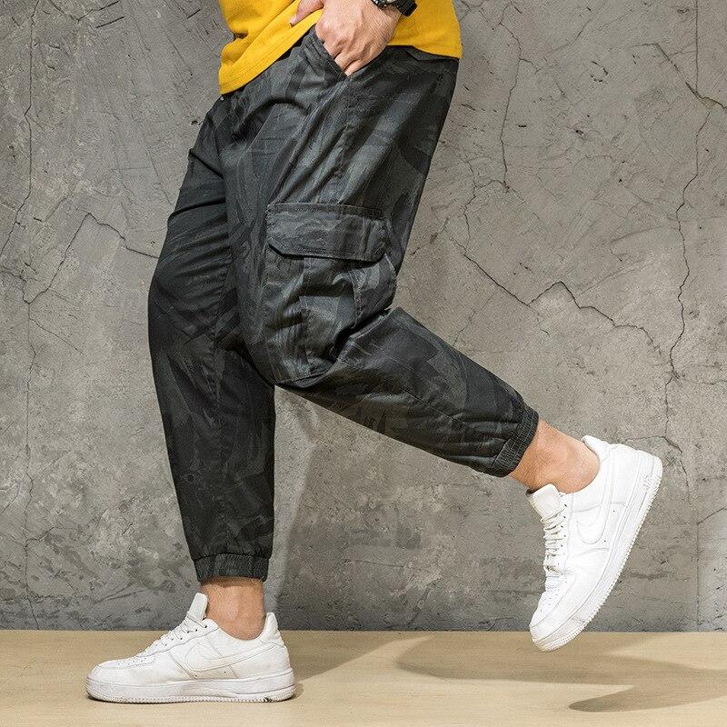 2019 nouveau hommes été automne Camouflage décontracté survêtement Camo Sportwear Baggy Harem pantalon