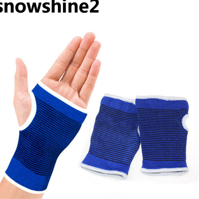 snowshine2 #3001 Support Wrist Gloves Hand Palm Gear Protector Elastic Brace Gym Sports freeshipping