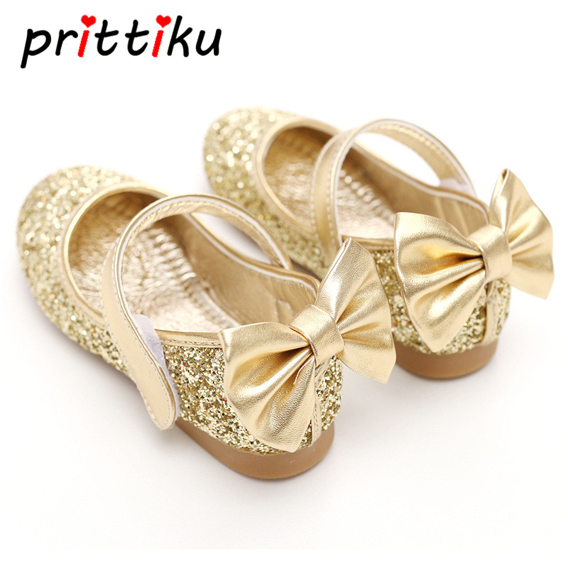 Baby Toddler Girls Gold Silver Glitter Sparkle Party ...