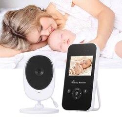 CYSINCOS 2,4 pulgadas de vídeo Digital inalámbrico Monitor de bebé-resolución Color LCD bebé dormir Monitor visión nocturna Sensor de temperatura