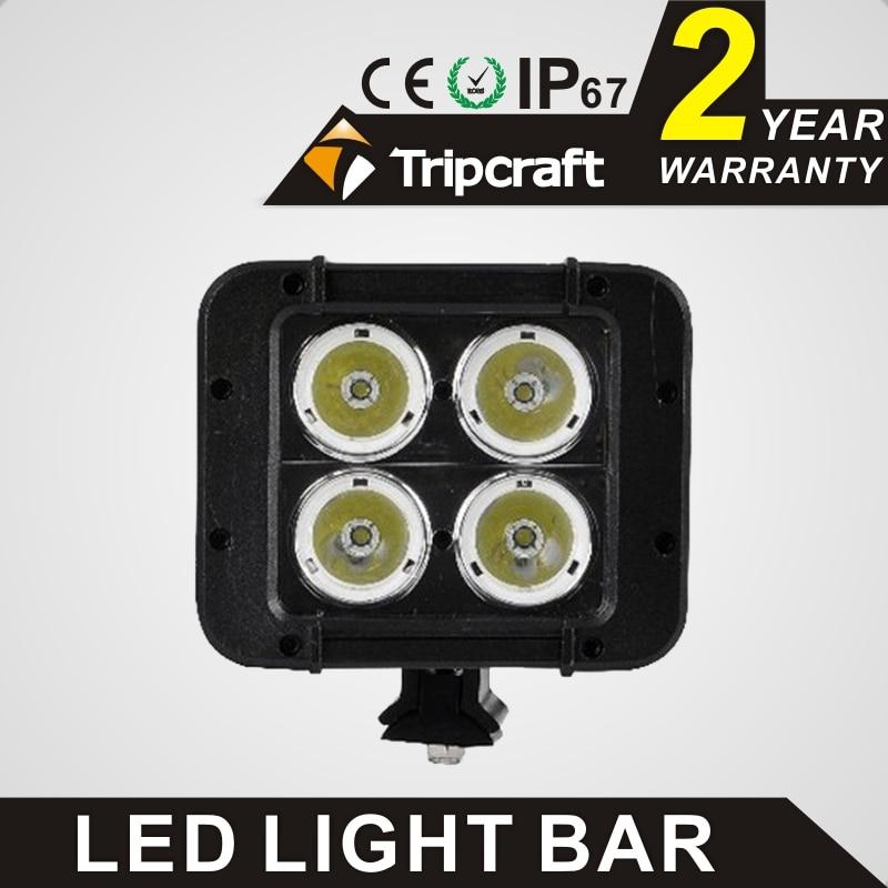 ФОТО Hot sale! 2PCS 4.6 inch 2 ROW 40W CREEs LED RAMP LAMP OFFROAD for led ramp car accessories Off Road 4WD 4x4 Truck SUV ATV 9V 70V