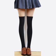 1Pcs New Fashion Winter Warm Women s Stocking Sexy High Over The Knee Long Stockings For