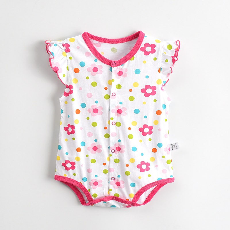 2017 Baby Rompers Summer Baby Girl Clothes Cute Newborn Baby Clothes Roupas Bebe Infant Jumpsuit Kids Clothes Baby Girl Clothing baby rompers summer baby boy clothes gentleman newborn baby clothes infant jumpsuits roupas bebe baby boy clothing kids clothes