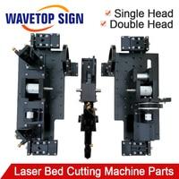 Двойной головкой лазерное основание резка механические Запчасти к устройствам лазерная гравировка машины аксессуар
