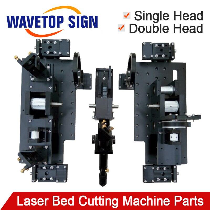 Double tête Laser lit Machine de découpe pièce mécanique pour Laser découpe et gravure Machine 1318 1325 1518 1525 1820 1825 2030