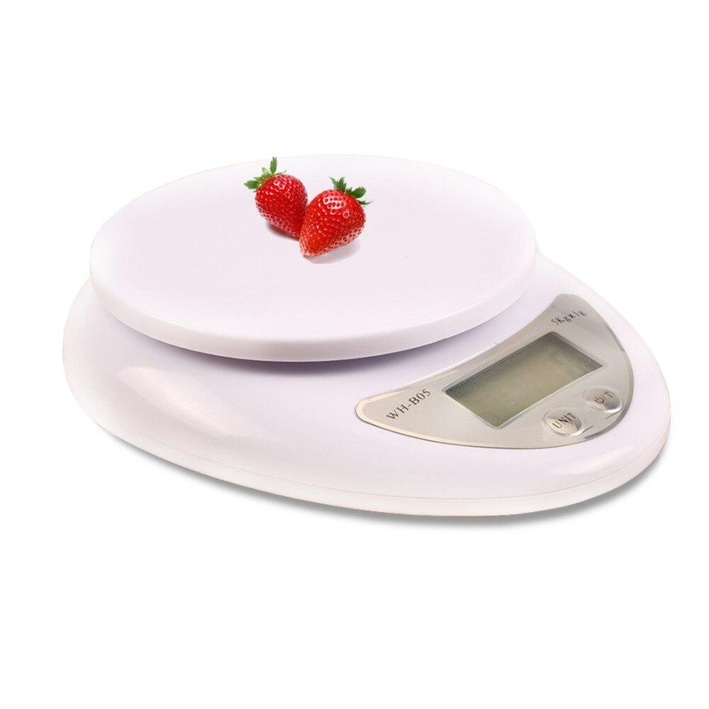 Mode 5 kg x 1g Waage Werkzeuge Balance Haushalts Gewicht Digital Küche Waage Nahrung Nahrungs Compact LED Elektronische steelyard