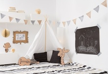 hot deal buy laeacco baby party gray wall tent wigwam flags blanket pillow boudoir portrait photo backdrops photo background for photo studio
