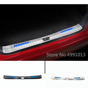Image 1 - For Toyota Avalon XX50 2018 2019 2020 car body stainless steel inner rear trunk bumper trim plate frame threshold pedal 1pcs