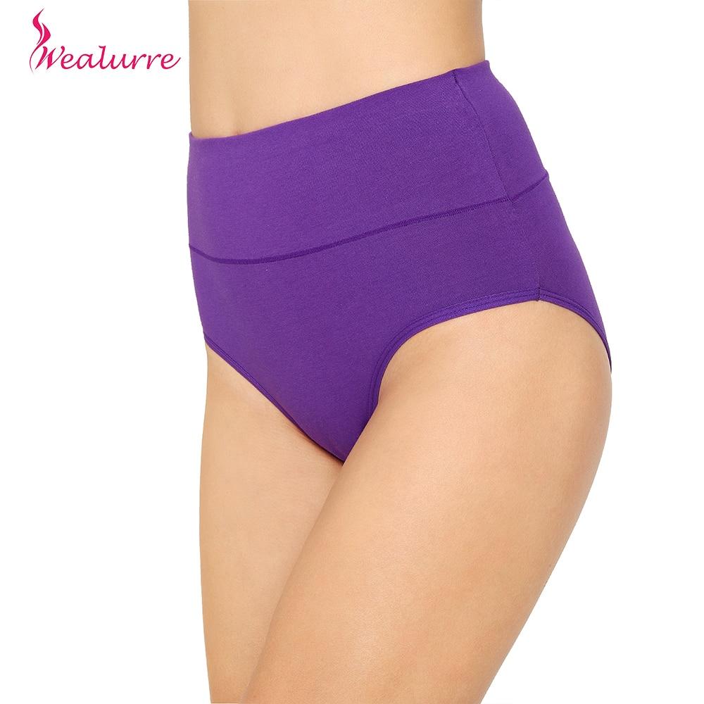 Wealurre Bamboo Plus Size Women   Panties   High Waist Cotton Underwear Lingerie High Waist Breathable   Panties   Briefs Underwear Sexy