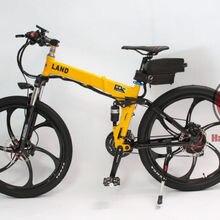 ConhisMotor 48V 500W Foldable Frame Electric Bicycle 12AH Li-ion Battery Ebike L