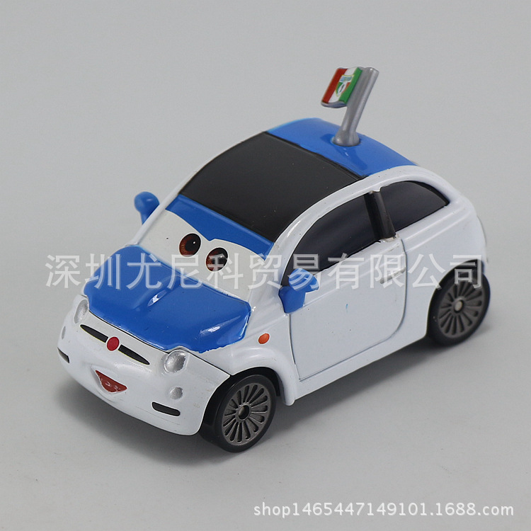 Disney Metal Car Toy 6cm Racing Car Model Action Figure 1:55 Scale Diecast Modl Alloy Toys for Childrens Christmas Gift