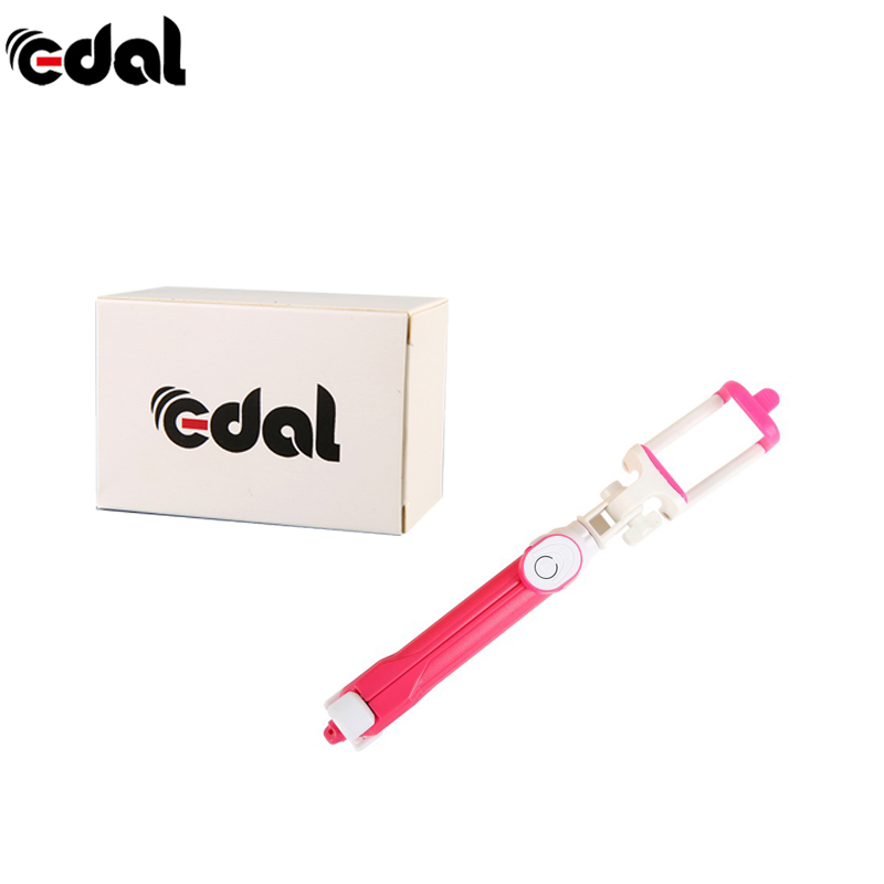 EDAL 2 in 1 Portable Bluetooth Selfie Stick Mini Foldable Self Stick Tripod Stretchable Selfie Stick Phone Tripod Holder Support