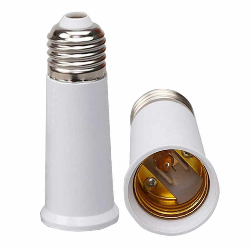 1X Auto LED Bulb Light GU24-E17-G24-E40 to E27 E14 to 2 E27 White LED Light Lamp Bulb Adapter Holder Socket Car Light Accessorie