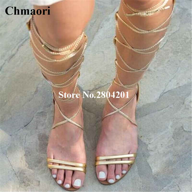 Summer Sandals Open Toe Strappy Flat Heels Casual Women Sandals Lace Up Gladiator Cross -tied Ankle Strap Rome Style Shoes Women mokingtop womens sandals flat women vintage cross strap summer roman gladiator strappy shoes flat heel shoes