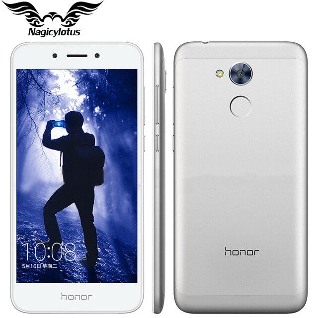 Оригинал huawei honor 6a 3 ГБ ram 32 ГБ rom snapdragon 430 Octa Ядро 5.0 дюймов Android7.0 Отпечатков Пальцев 13.0MP 3020 мАч Мобильный телефон
