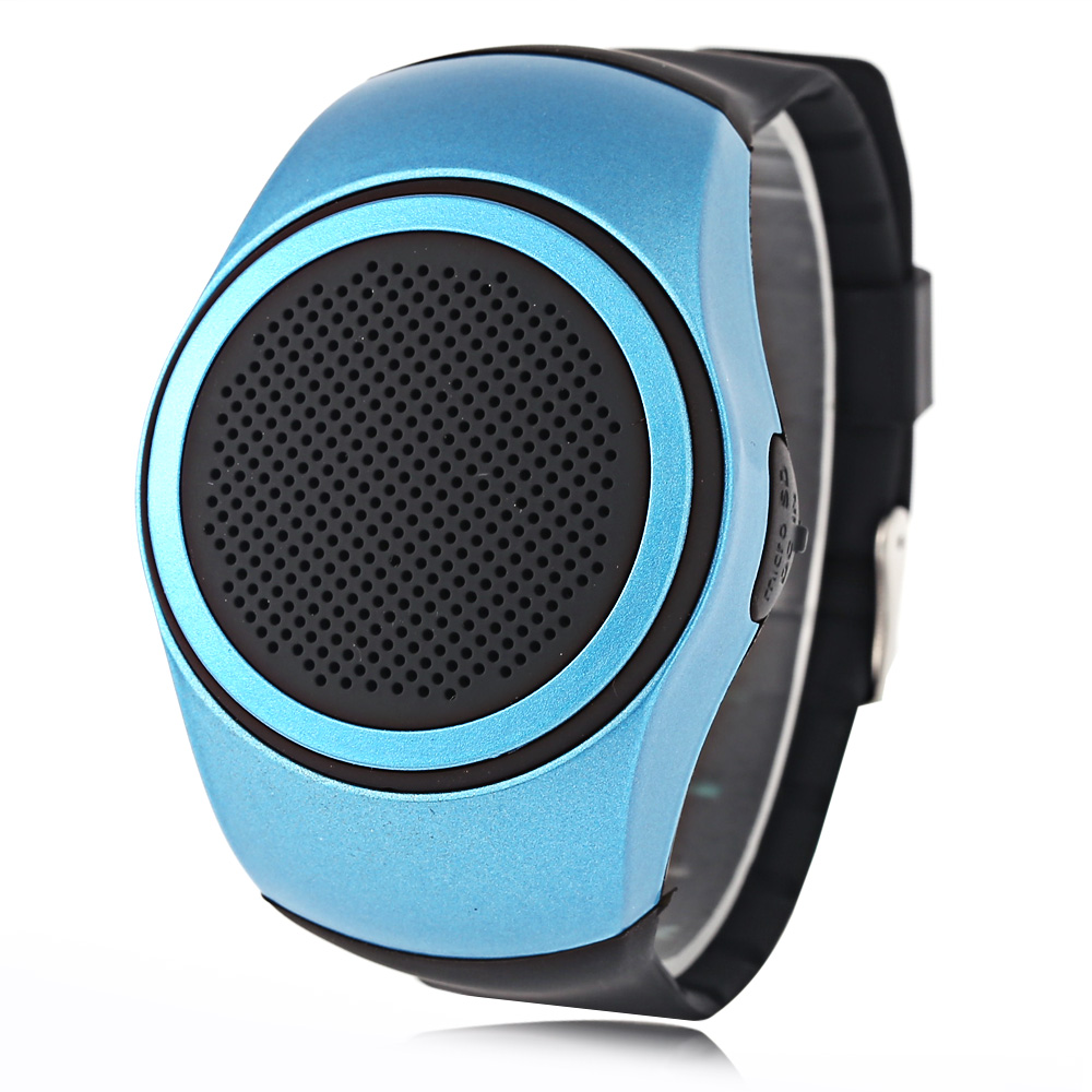Bluetooth 2.1 Watch Style Music Speaker Support TF Card Hands-free Call Wristwat