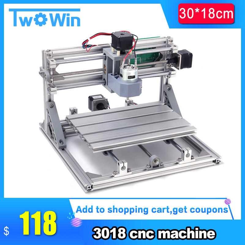 Us 125 0 40 Off Cnc3018 With Er11 Diy Cnc Engraving Machine Pcb Milling Machine Wood Carving Machine Cnc Router Cnc 3018 Grbl Best Advanced Toys In