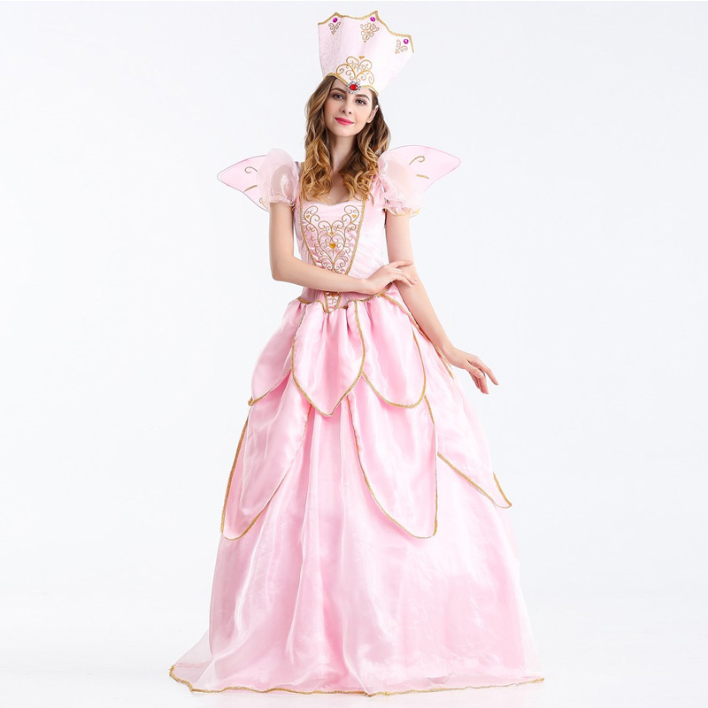 Vocole Adult Women Sexy Sleeping Beauty Costume Princess Aurora Bellet Cosplay Costumes Halloween Party Fancy Dress