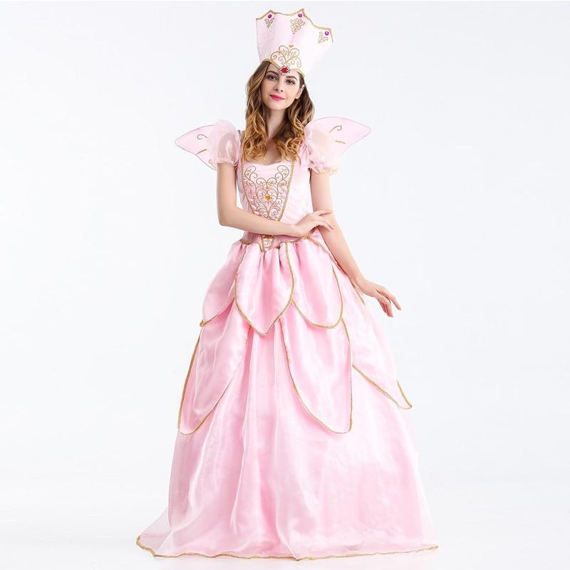 Vocole Adult Women Sexy Sleeping Beauty Costume Princess Aurora Bellet Cosplay Costumes Halloween Party Fancy Dress