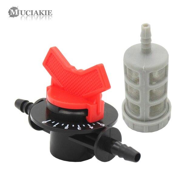 MUCIAKIE 1 комплект инжектор Вентури для жидких удобрений фитинги для инжекторов 7 мм отключение воды с фигуркой металлический фильтр садовый Орошение Шланг аксессуар