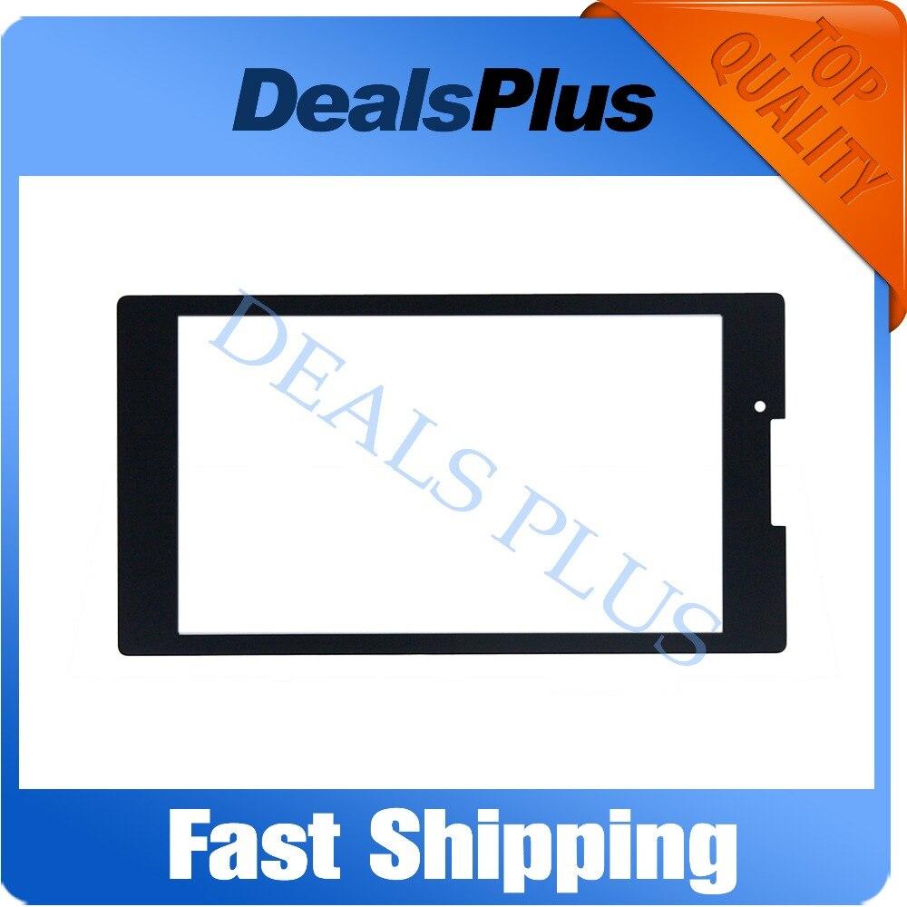 Wymiana nowy przedni szklany zewnętrzny Panel szklany obiektyw dla Lenovo Tab 2 A7 30 A7 30DC A7 30HC A7 30TC 7 cal czarny w Ekrany LCD i panele do tabletów od Komputer i biuro na DEALS PLUS TECHNOLOGY CO.,LIMITED