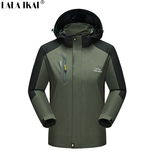 Jackets Men Women Spring Autumn Waterproof Jacket Softshell Outdoor Clothing Mountaineering Clothes Fishing Camping HMA0629