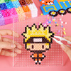 24 Perler Beads Kit 5mm  2 6mm Kit Hama Beads Creative 3D Puzzle Full Set with all accessories Ironing Handmade Beads Toy Gift discount