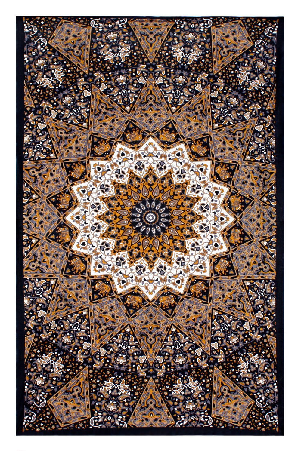 geometric indian pattern picture home decor wall mandala tapestry bohemian polyester fabric tapestries wall hangings cloth